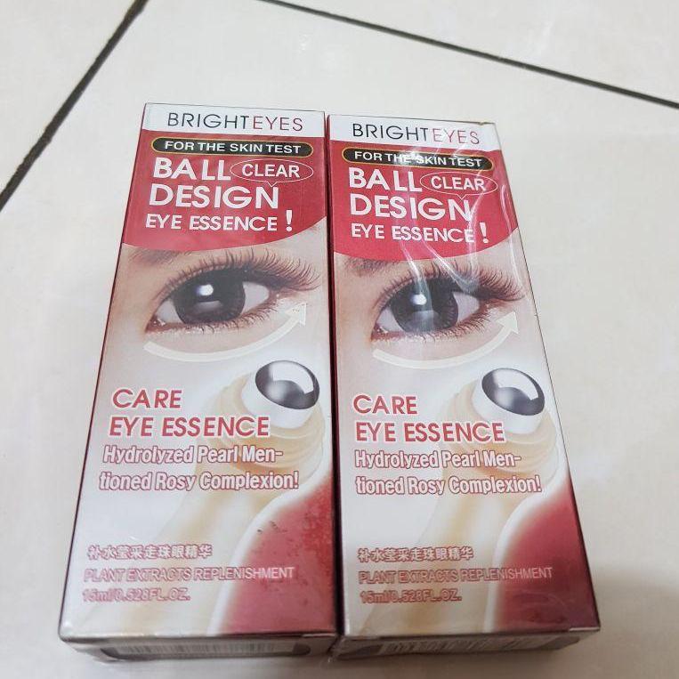 ... Cream Rollon Penghilang Mata Panda - Bioaqua Brighteyes Ball Original 100% - Krim Mata Panda ...
