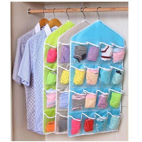 Hanger Gantungan Celana Dalam Underwear Gantungan CD dan Sempak Hijau
