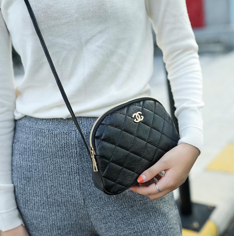 ... T121} Tas Selempang Petak Zipper / Sling Bag / Tas Fashion /