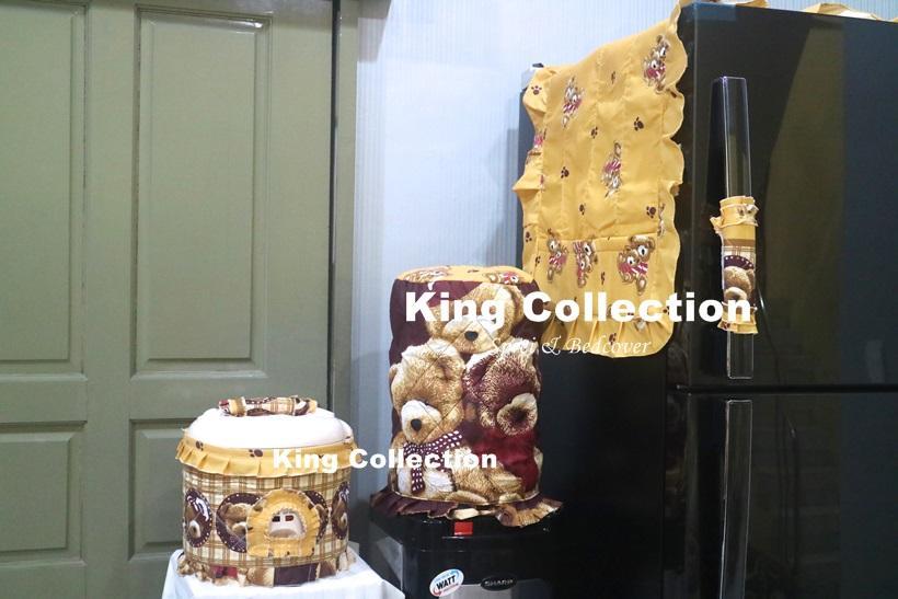 kingsprei set sarung galon teddy bear forever
