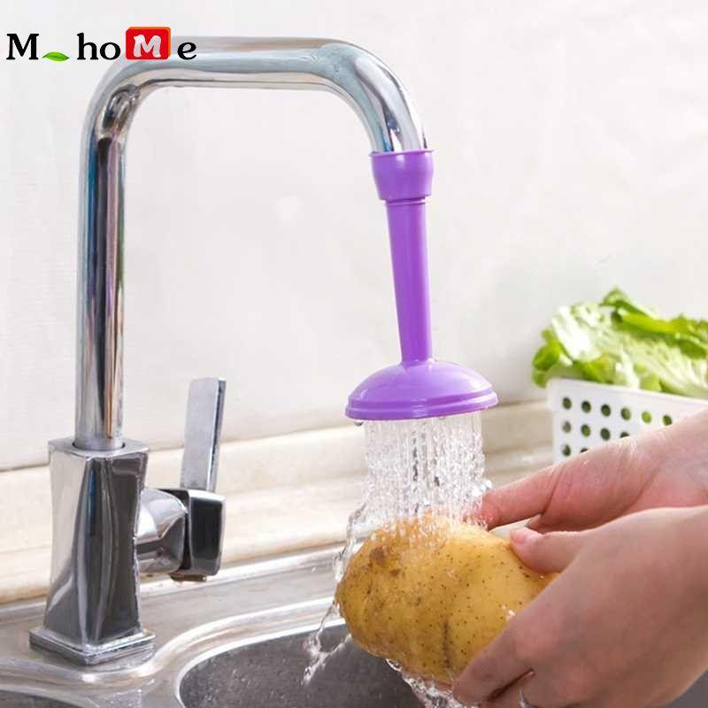 Kitchen Faucet Bath Shower Anti Splash Filter Air Keran Hemat Perangkat Head 1 PC-Intl