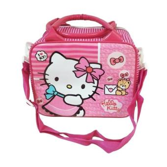 [0930040035] Tas Travell Hello Kitty  Anak - Pink