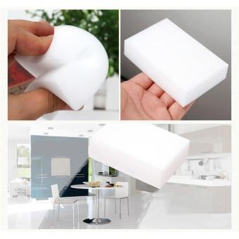 10 Pcs Magic Sponge Eraser Kitchen Duster wipes Home Clean Dish Cleaning Nano - intl