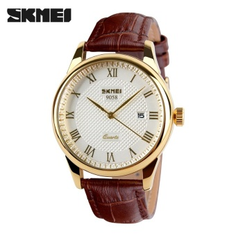 [100% Genuine] SKMEI Merek Mewah Wanita QUARTZ Jam Tangan Fashion Casual Watches 30