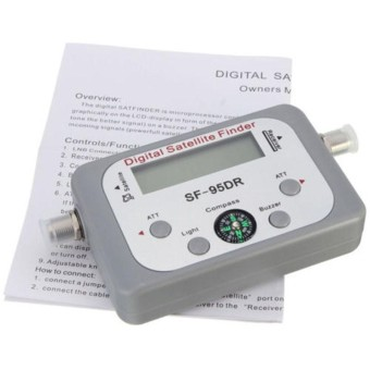 1 PC LCD Digital Sinyal Satelit Finder Satfinder Meter Finder FTA Dish-Intl ..