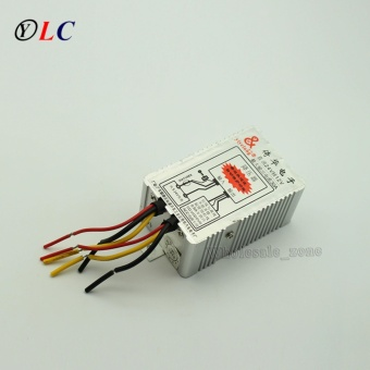 24V to 12V DC-DC Car Power Supply Inverter Converter Conversion Device 30A Car Tool - intl