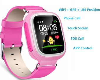 2Cool Kids Smart Watch with Touch Screen Phone Call WiFi PositionAnti Lose SOS GPS Tracker Children SmartWatch for iPhone Android -intl