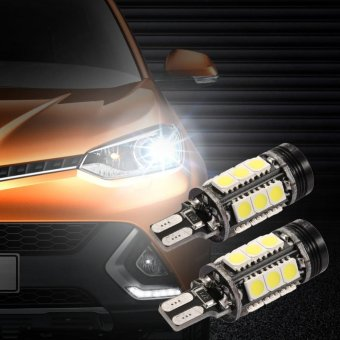 2X Xenon Putih Mobil Styling CANBUS Kesalahan Emitor LED T15 360 5050 SMD 921 912