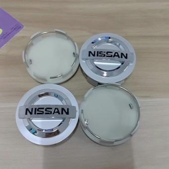 4pcs/lot 60mm Car Wheel Center Hub Cap Stickers for Nissan Altima Sentra X-