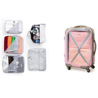 TOKO49 - 5 In 1 Bag In Bag Travelling Travel Organizer Tas (1 set isi