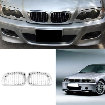 Review of 98-01 Car Front Kidney Plating Kisi-kisi untuk BMW E46 318i