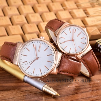 Hot Deals Alexandre Costie - Bonico - Jam Tangan Pria dan Wanita - Body Rose Gold