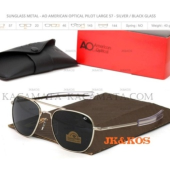 American Optical - Sunglasses Men Sport New - Silver