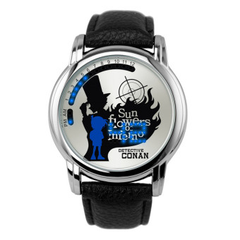'Anime LED Touching Screen Waterproof 100M Boys'' FashionWatches(Color:CONAN) - intl'