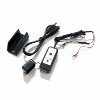 Anzena Charger Motor USB - Hitam