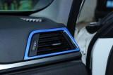 ... Areyourshop Interior Sisi Depan Kondisi Udara Vent Trim Tutup untuk BMW 3 Series F30 F35 Biru ...