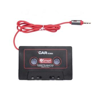 AUkEy BARU Mobil Kaset Tape Adaptor Mp3 Player Converter CONNECTOR Berubah Switch 3.5mm-Intl