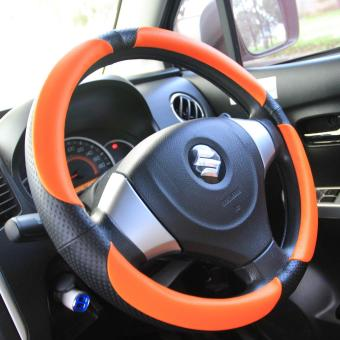 Autorace Stir Cover / Sarung Stir Mobil AR 109 Orange