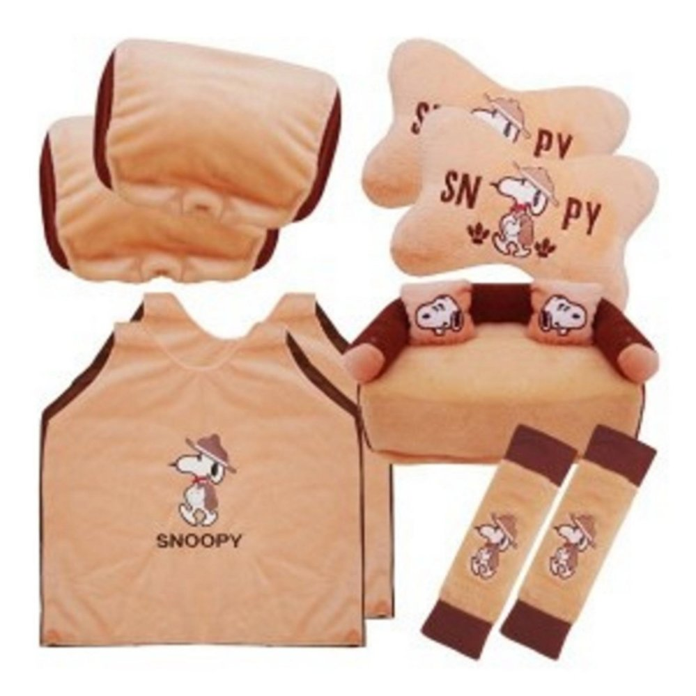 bantal mobil 5 in 1 exclusive snoopy