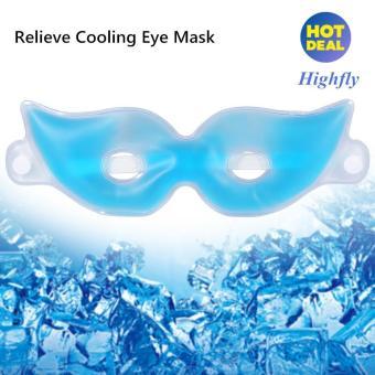 Baru Reusable Meringankan Kelelahan Lingkaran Mata Gelap Mendinginkan Menenangkan Dingin Masker Mata Pack-Intl