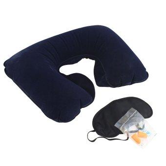 Bestway - Pillow Travel - Bantal Leher Tiup Set Travel