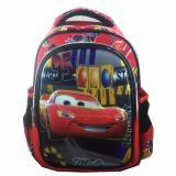 BGC 6 Dimensi Cars Timbul IMPORT Tas Ransel Anak Sekolah TK + Lunch Bag Aluminium Tahan ...