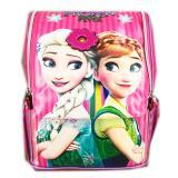 BGC Tas Ransel Sekolah Anak TK Frozen Elsa Ribbon 3D Timbul - Full Motif Snow ...