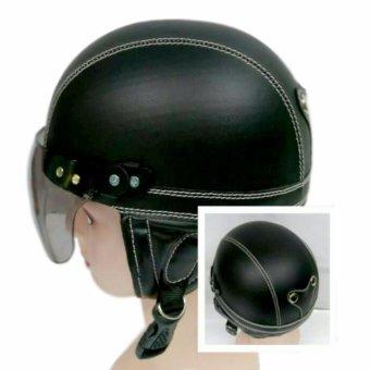Broico Helm Anak Chip/retro/sincan lucu usia 1 - 4 tahun Motif Polos