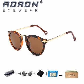 [Buy 1 Get 1 Freebie] AORON Women's Fashion Classic Design Sunglasses UV400 Protect Polarized