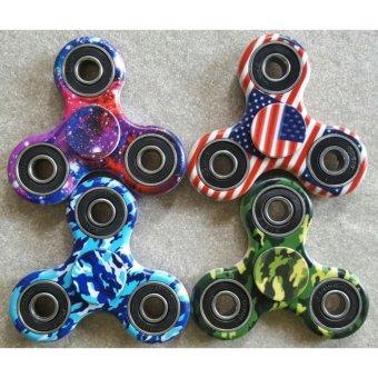 Cannies Army and Galax Star Fidget Spinner/Hand Spinner/ Mainan finger spinner Warna random