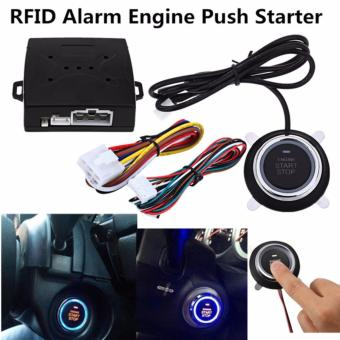 Mobil Alarm Jari RFID Push Starter Engine Start Stop Transponder Remote Tombol Start-Intl