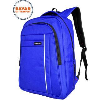 Carboni Backpack Tas Ransel Laptop MA00038 - Red + Raincover Waterproop Ber Logo Original