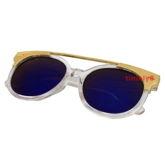 Cat Eye Sunglasses CAT 5019 Clear Blue - Kacamata Wanita