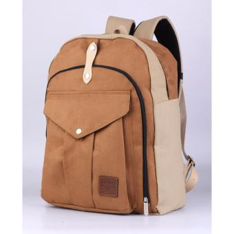 Catenzo Backpack - Tas Ransel Best Seller Canvas (Laptop)