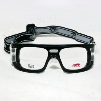 Cougar CG09 Frame Kacamata Olahraga Futsal   Basket Bisa Dipasang Lensa  Minus Di . 18326611c8