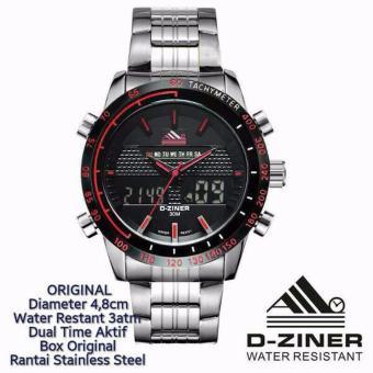 D-ziner Jam Tangan Casual Stainless steel Pria DZ-8169, 195.000, Update