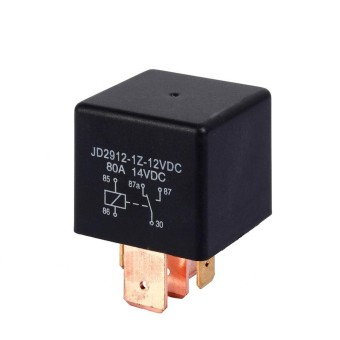 Duoqiao DC 12V 80A AMP Split Charge 5 Pin Car Vehicle Automotive Van Boat Truck Relay - intl