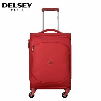 Delsey U-Lite Classic 2 Tas Koper Travel 55cm Kabin Roda 4 Soft Case Trolley