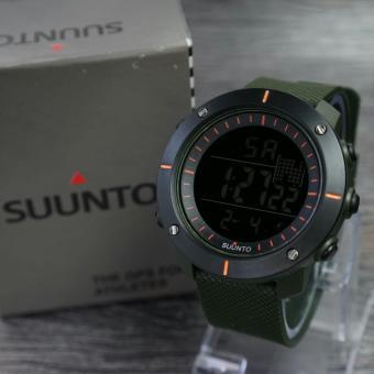 Digitec Sunnto - Jam tangan Pria - Model Casual Trendy - Leather strap