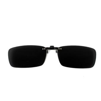 Mengemudi Terpolarisasi Sinar UV 400 Lensa Polaroid Jepitan Pada Sandal Atas Kacamata Hitam Kacamata (Hitam