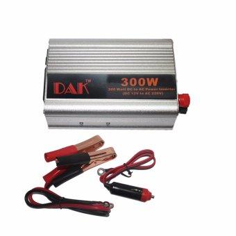 EELIC POI-300W Car Power Inverter 300 Watt Adaptor DC-AC