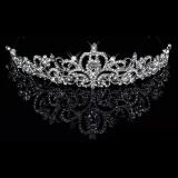 ... Eegantuxuriou Diaante Rhinsetone Mahkota Pesta Wedding Hadiah Pengantin Baru - 3 ...