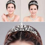Detail Gambar Eegantuxuriou Diaante Rhinsetone Mahkota Pesta Wedding Hadiah Pengantin Baru Terbaru