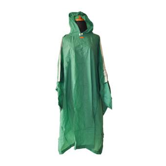 Elmondo EPC710 Personal : Jas Hujan Ponco Lengan Hijau
