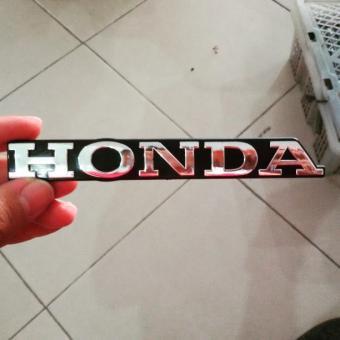 Emblem Honda Tulisan Honda