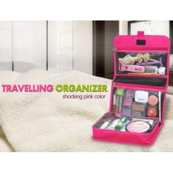 Emwe TO Travelling Bag Organizer tas make up Toiletry cosmetic Toiletries bag tas toilet travel mate