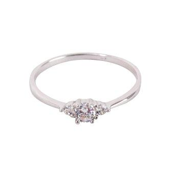 Eyo Jewelry Cincin Wanita SR 3173 Silver