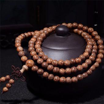 Fashion Pria Wanita Infinity Multilayer Gelang Pesona Manik-manik Kalung Perhiasan 6mm-Intl