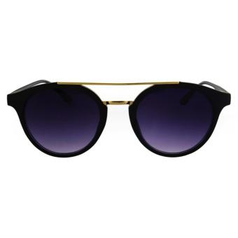Fashionity Sunglasses AL9638 Black - Kacamata Pria dan Wanita - New Aviator  - Korea Style - 4ca9fe3f21