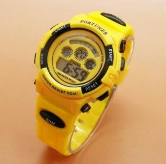 Fortuner Sport Digital - FR 1600 Yellow - Jam Tangan Wanita - Karet